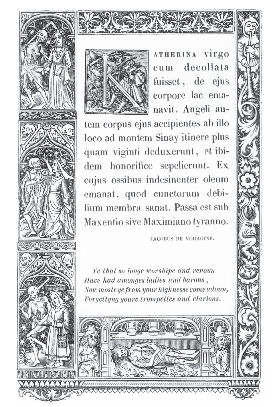 Hans Holbein Alphabet of Death